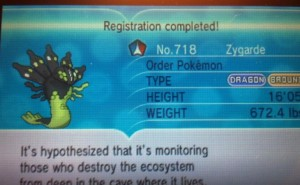 Pokemon X and Y full Pokedex list for all regions