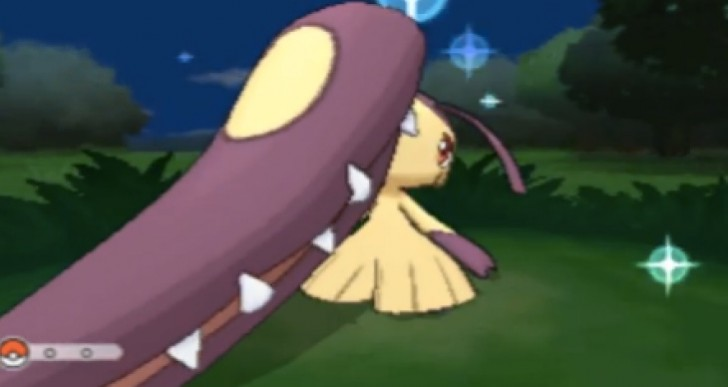Pokemon X and Y shiny Mega Mawile with Masuda method