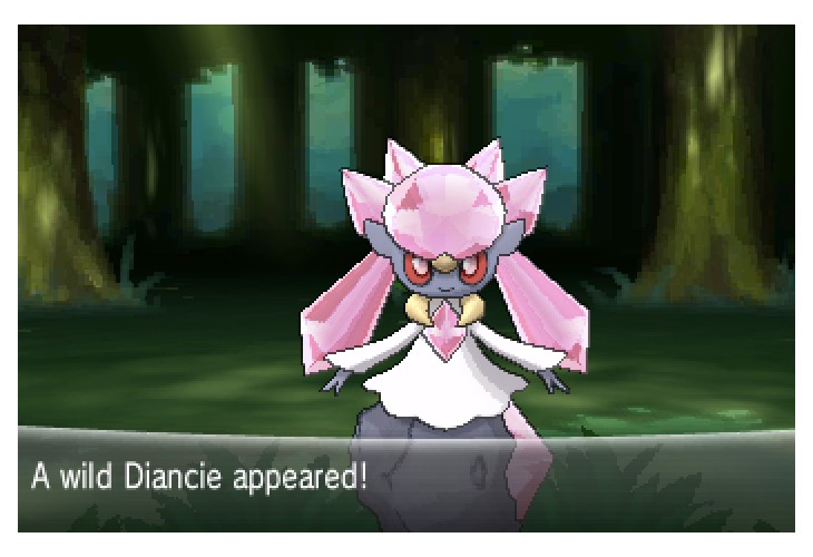 Pokemon X and Y Pokedex for Volcanion, Hoopa, Diancie