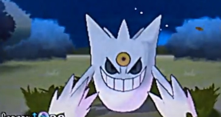 Pokemon X and Y shiny mega Gengar, Gyrados unleashed