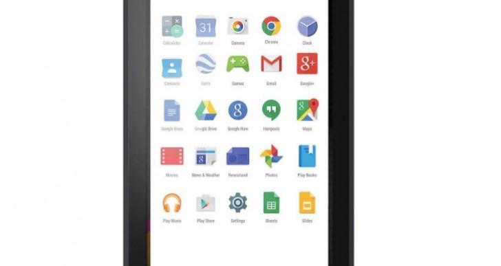Polaroid 7-inch Quad-core tablet P700BK review missing