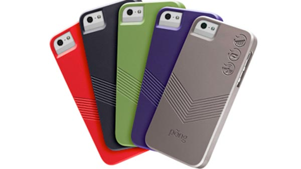 Strong iPhone 5 cases from Pong