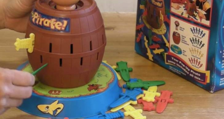 Tomy Pop-up Pirate best price and reviews