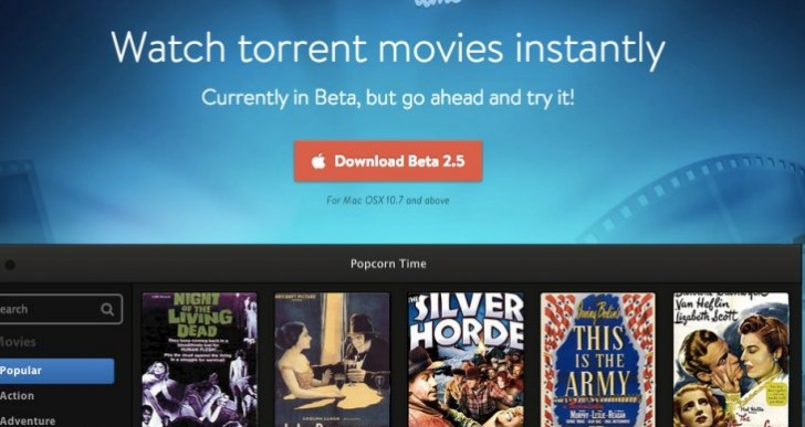 Popcorn Time app download asking for trouble