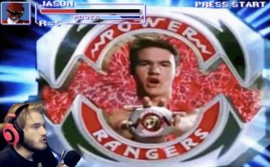 PewDiePie unleashes Power Rangers on YouTube