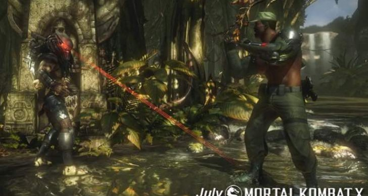 Predator MKX release date in July on PS4, Xbox One