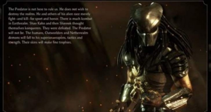 Predator Variations in MKX with Hish-Qu-Ten confirmed