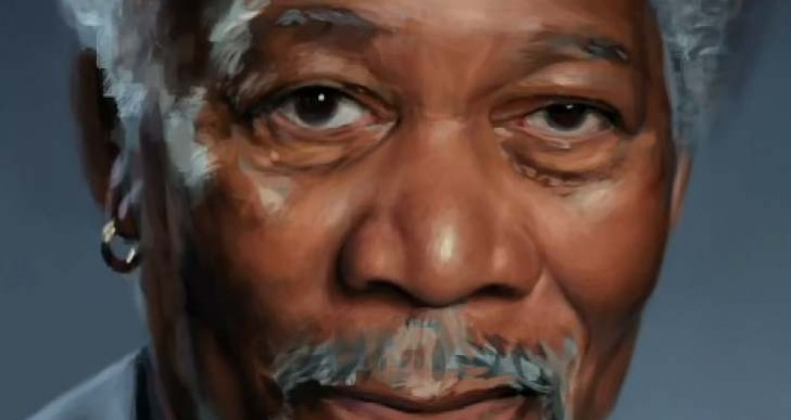 Procreate iPad app with Morgan Freeman will stun you