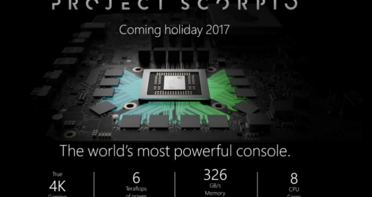 Xbox Project Scorpio 4K processor tease before E3 2017