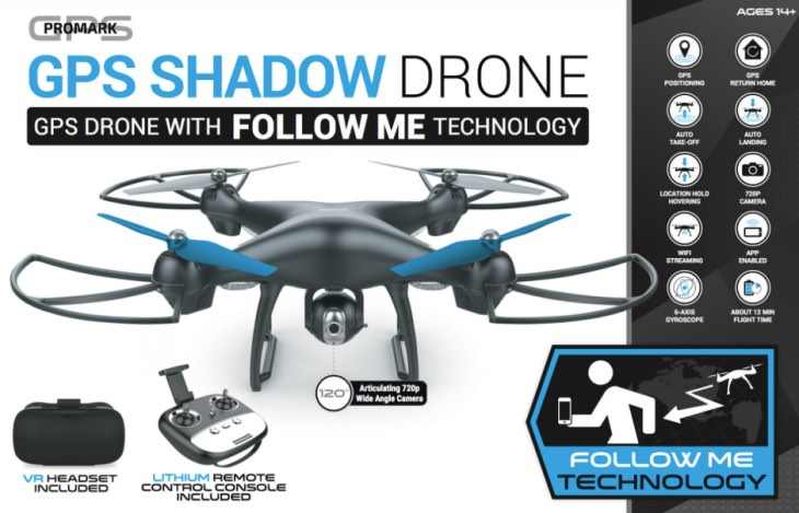 Promark P70 Shadow VR Drone review with full specs