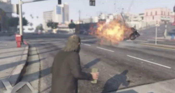 GTA V Proximity Mine is absolutely nasty