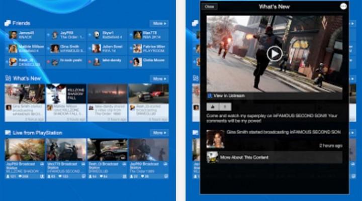 PlayStation App 2.0.7 update live