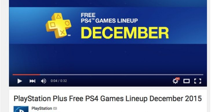 PS Plus December 2015 Vs Games with Gold backlash