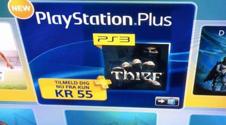 PS Plus February PS3 free game could be Thief