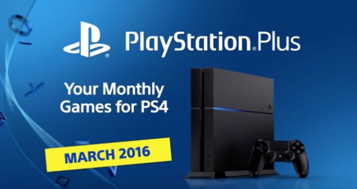 PS Plus March 2016 lineup confirmed on PS4, PS3