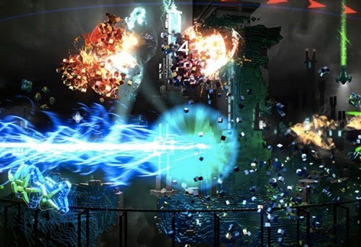 PS Plus PS4 free games, Contrast vs. RESOGUN