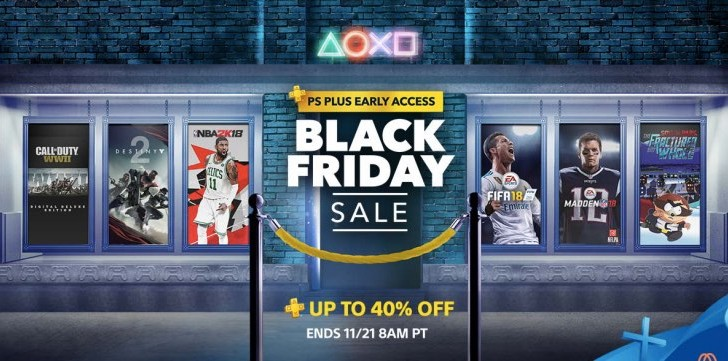 PS Store Black Friday 2017 Sale for COD WW2, Destiny 2, FIFA 18