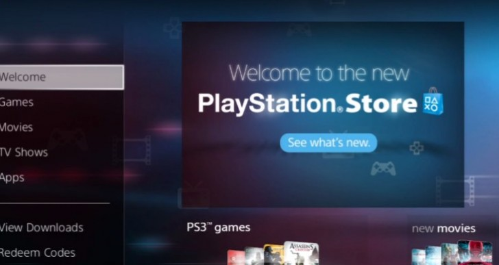 Sony release live PlayStation Store update