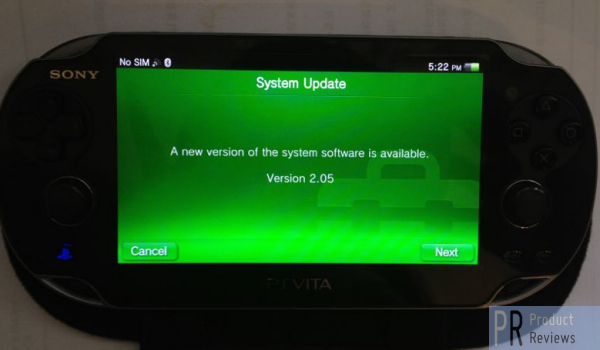PS Vita 2.05 update is another disappointment