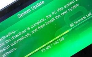 PS Vita 2.11 update minus Sony fanfare
