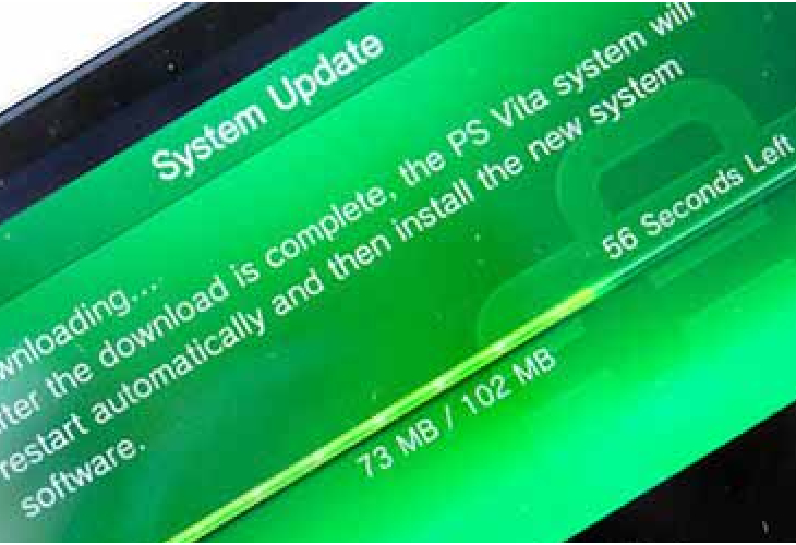 PS Vita 2.11 update minus Sony fanfare