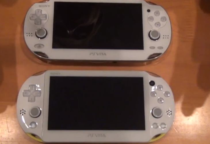 PS Vita 2000 Vs PS Vita in video review