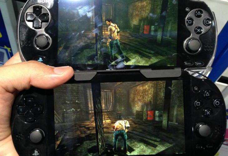 PS Vita 2 vs original shows screen differences