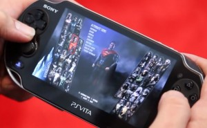 PS Vita graphics with Injustice Gods Among Us