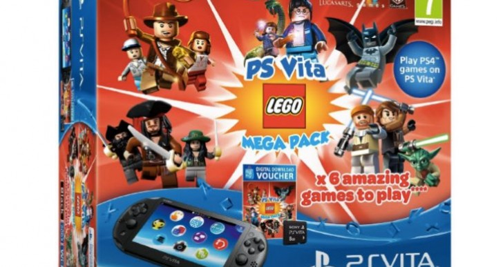 PS Vita Lego Mega Pack Bundle UK stock update