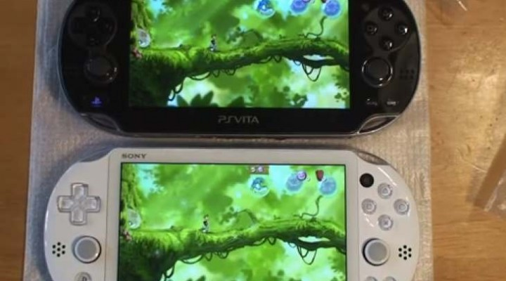 PS Vita Slim OLED Vs LCD before UK release