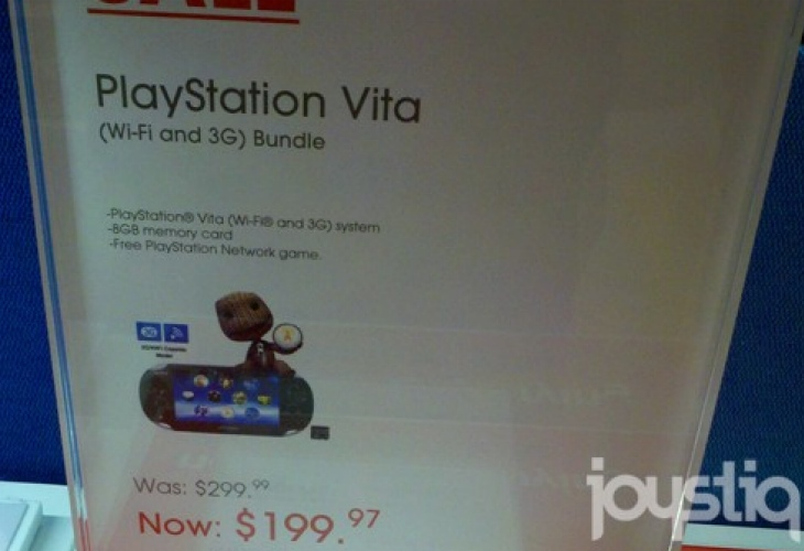 PS Vita price cut in US for troubled 3G model
