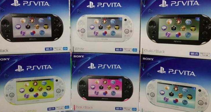 PS Vita Slim unboxing, UK US release still MIA