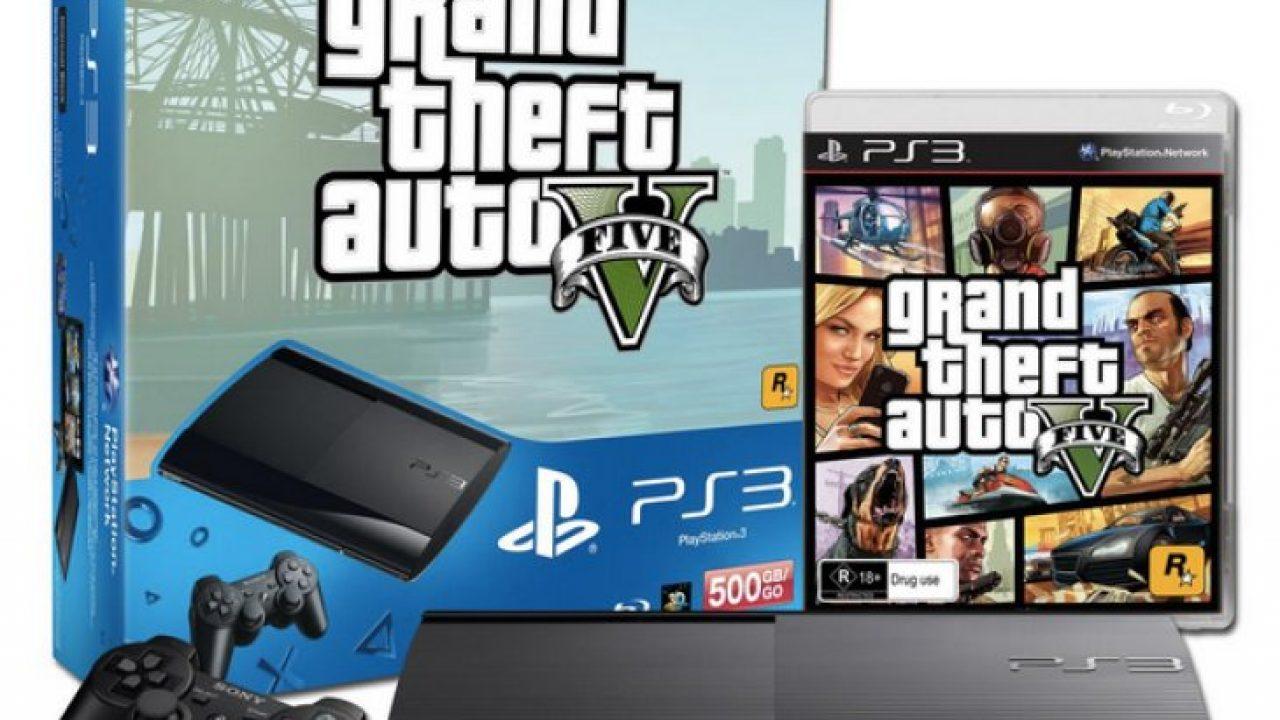 PS3 GTA V bundle for non next-gen gamers – Product Reviews Net