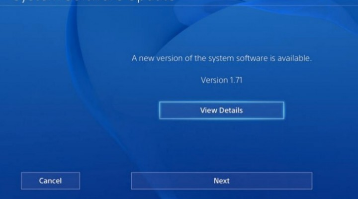 PS4 1.72 update for DLNA, Custom theme odds