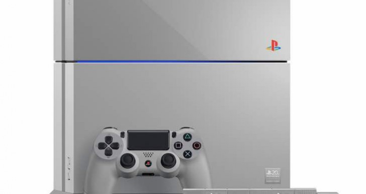 PS4 20th Anniversary pre-order in UK, US sadness