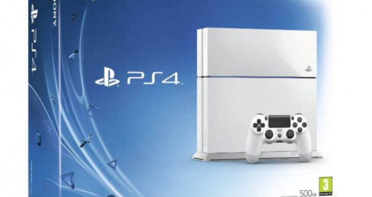 White PS4 stock update for UK, US
