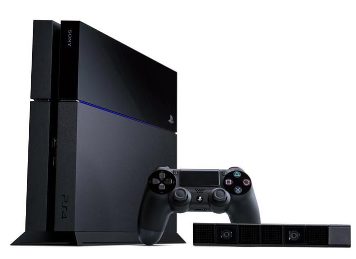 ps4-console-with-camera