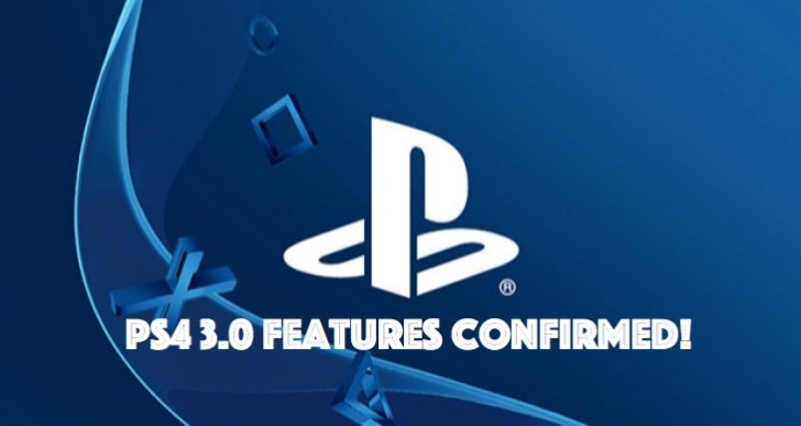 PS4 3.0 system software update time and notes