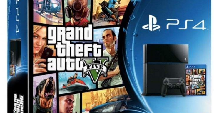GTA V PS4 digital price versus disc at Game UK