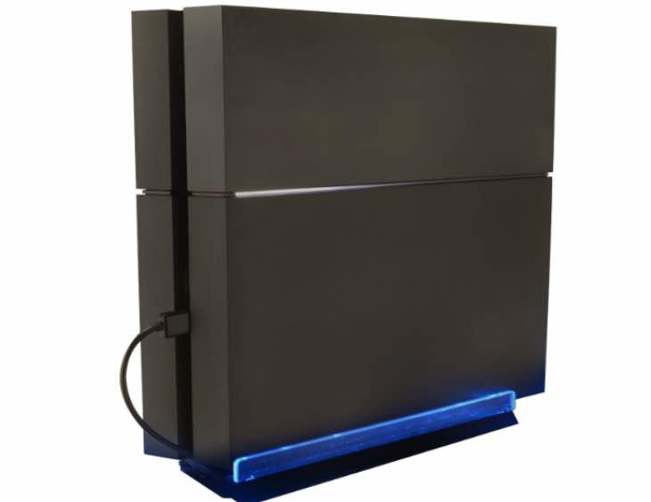 Transform PS4 with LED lights stand from KMD
