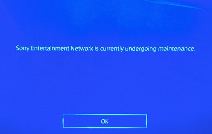 ps4-maintenance