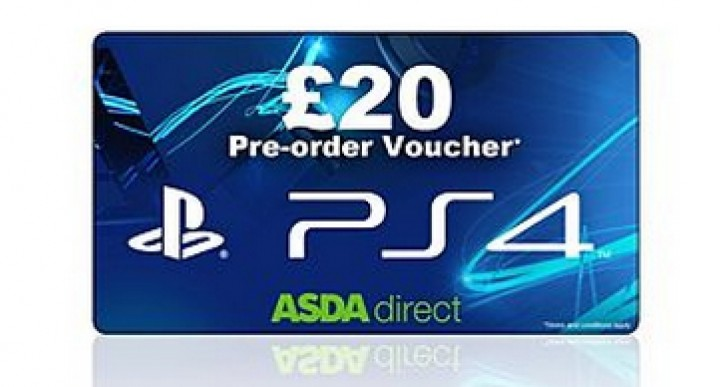 Sony PS4 UK release tease with ASDA pre-order