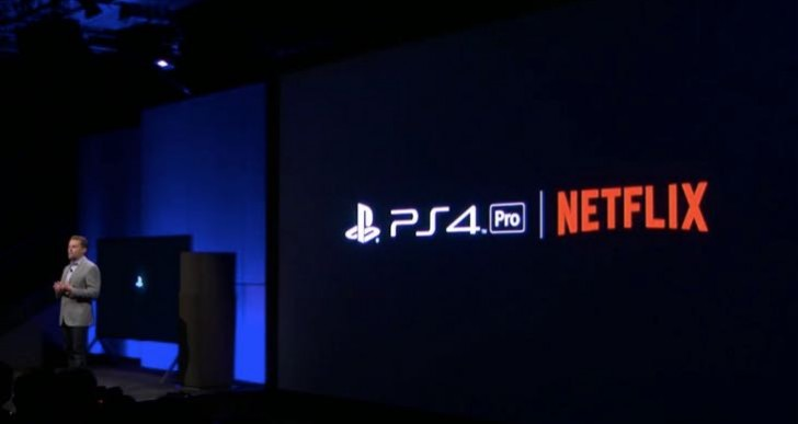 PS4 Pro 4K Netflix app release date excitement for Luke Cage