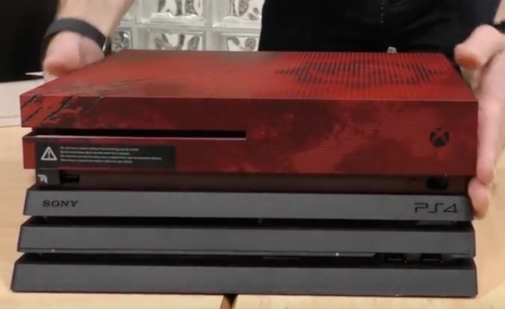 ps4-pro-unboxing-size-comparison-vs-xbox-one-s