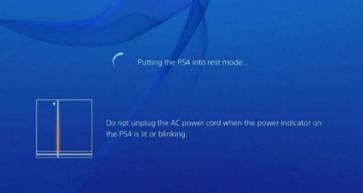 PS4 update 2.01, or 2.1 for Rest Mode problems