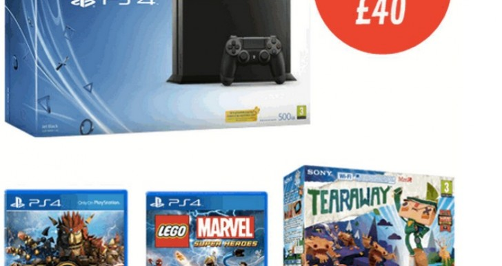 PS4 Ultimate Bundle with shockingly high price