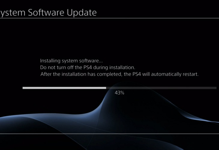 PS4 update 1.51 features with auto-download joy