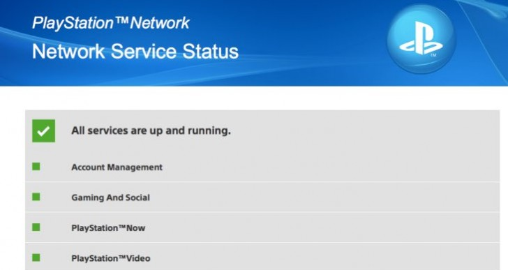 PSN down February 13 with maintenance NP-35000-8 error