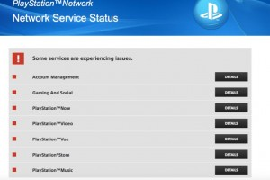PSN server status shows all services down for Nov 28