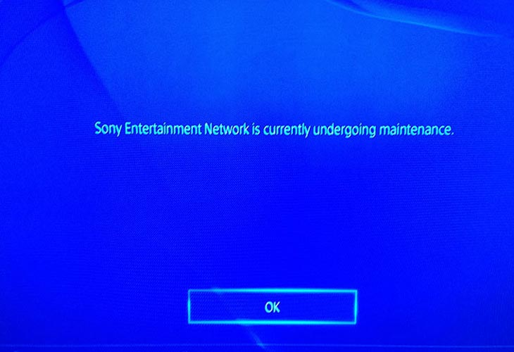 psn-undergoing-maintenance-error